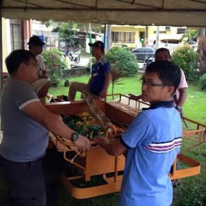 1st ibaan organic product mini trade fair ethel joy caiga mayor danny toreja ibaan agriculture 5