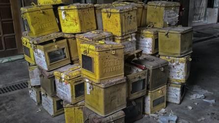 ibaan batangas comelec ballot boxes