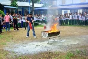 ibaan batangas saint james academy the big one earthquake drill mayor danny toreja iba ang ibaan 24
