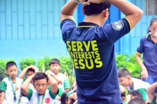 ibaan batangas saint james academy the big one earthquake drill mayor danny toreja iba ang ibaan 9