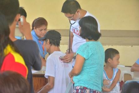 Dr. Gerald Alday na laging nakaagapay sa pagbibigay ng serbisyong medikal sa lahat ng Ugnayan sa Barangay.