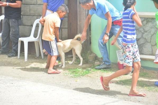 ugnayan sa barangay sto nino ibaan batanga gilbert kalalo mayor danny toreja