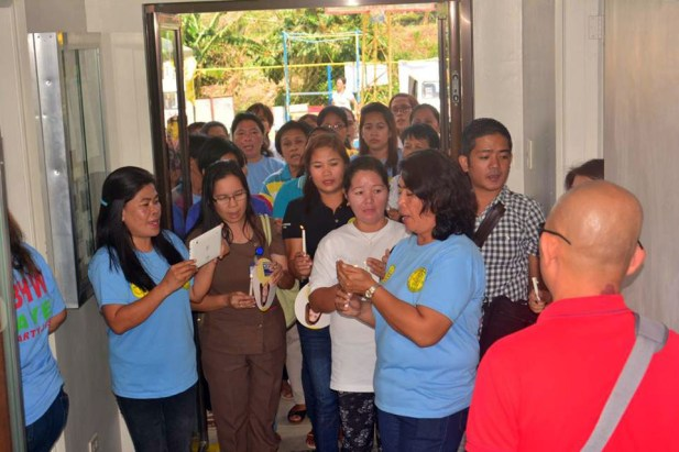 mayor danny toreja inauguration of pangao barangay hall ibaan batangas 10