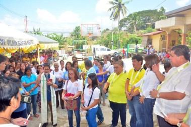 mayor danny toreja inauguration of pangao barangay hall ibaan batangas 13