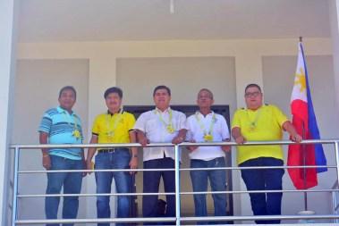 mayor danny toreja inauguration of pangao barangay hall ibaan batangas 3