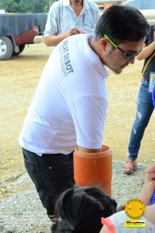 delnor agr food corporation ground breaking ceremony brgy lapulapu ibaan batangas mayor danny toreja july 30 2016 33