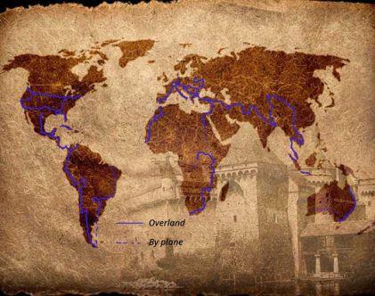 Mustafa Dogru Overland World Trip