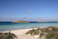 Illetes beach