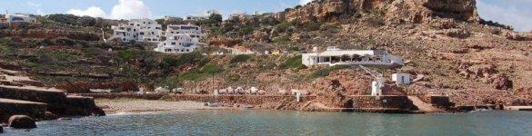 Cala Morell in Ciutadella de Menorca