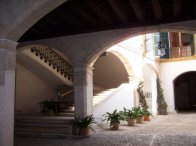 Pati al centre històric de Palma