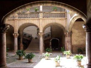 Pati de Can Sureda, al centre històric de Palma