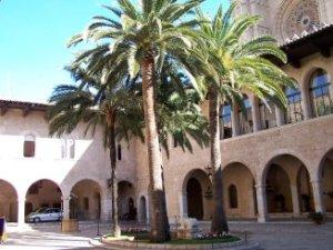 Pati del Rei o de l'honor al Palau de l'Almudaina de Palma