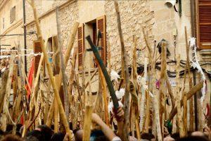 Festes de la Patrona a Pollença - Batalla de moros i cristians