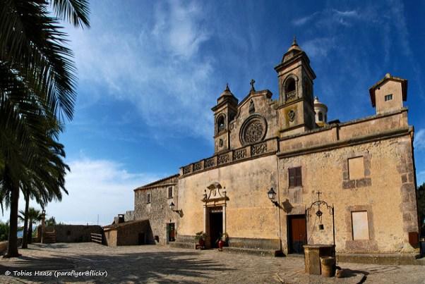 Santuari de Bonay a Petra, Mallorca.