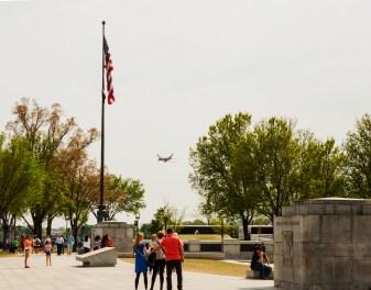 Entrance to National World War II Memorial