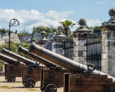 Cannon in Castillo de la Real Fuerza