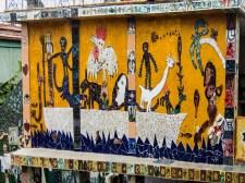 Noah's Ark, a mural by Cuban artist Jose Fuster