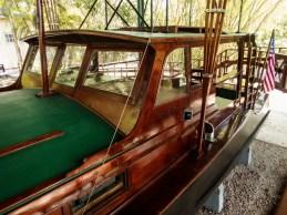 Cabin of Hemingway's boat Pilar
