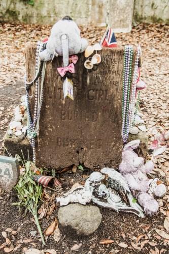 Headstone for Girl in Barrel of Rum