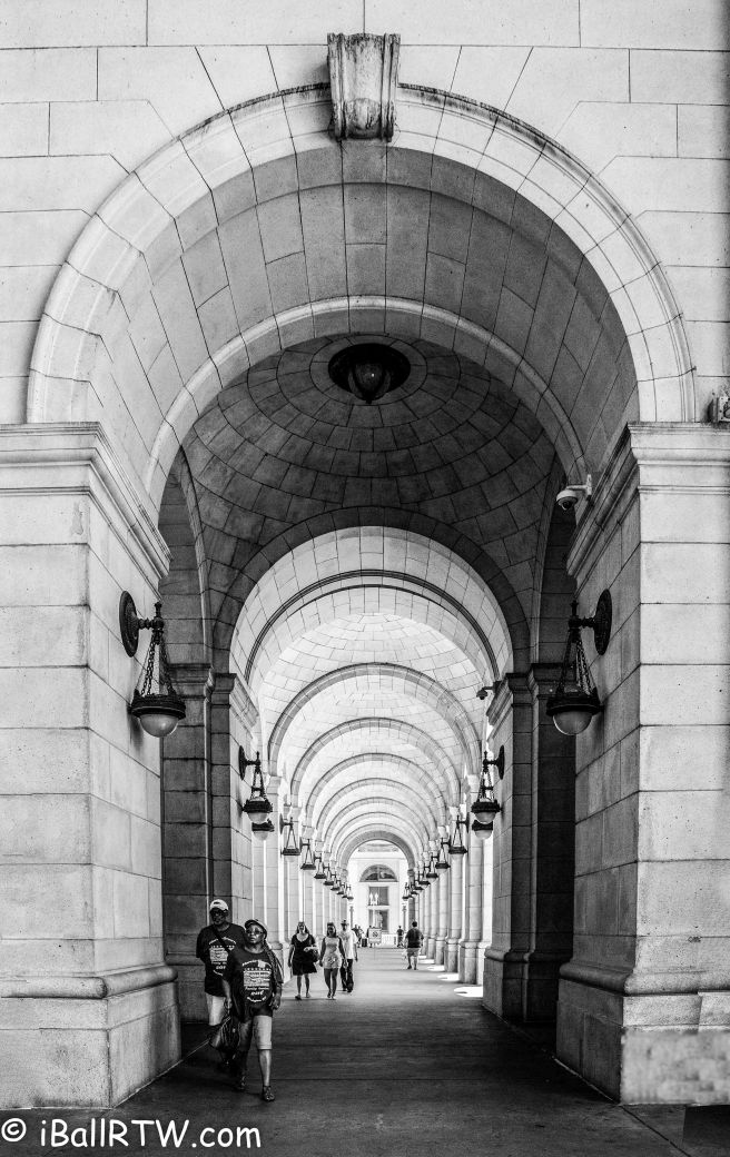 Union Station Vaulted Colonnade