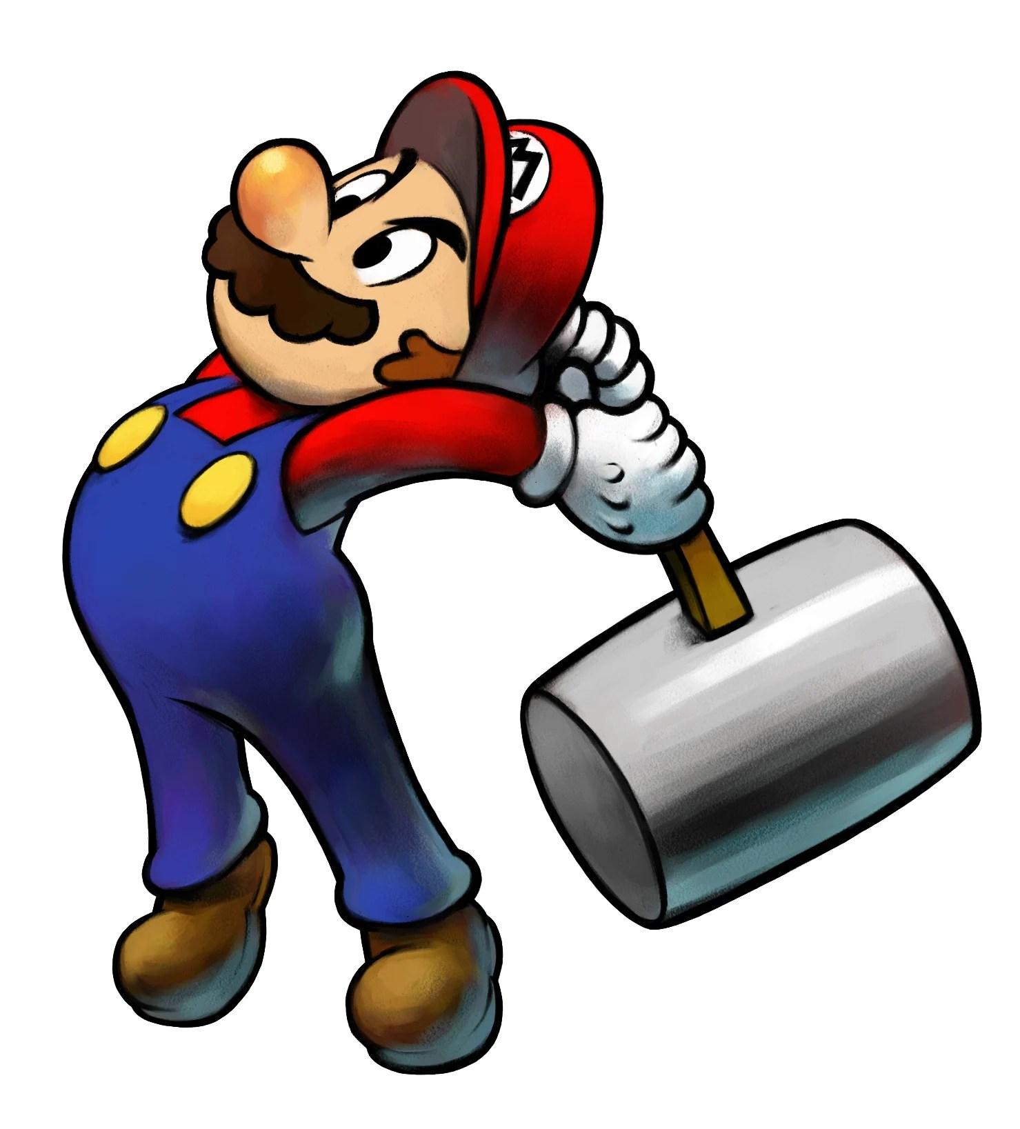 Super Mario Hammer