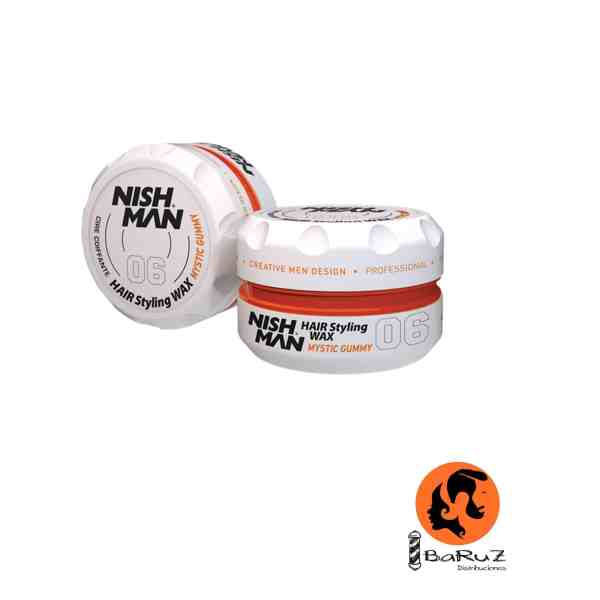 NISHMAN Hair Wax 06 Mystic Gummy