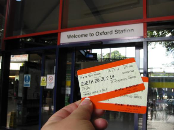 Rover tickets with Two Together railcard discounts