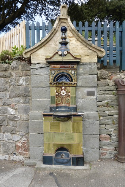 The Doulton water fountain, Clevedon