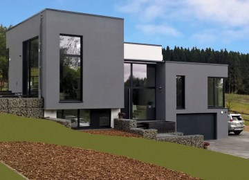 Maison Moderne Luxembourg Contact | Maison à Luxembourg Weimerskirch ...