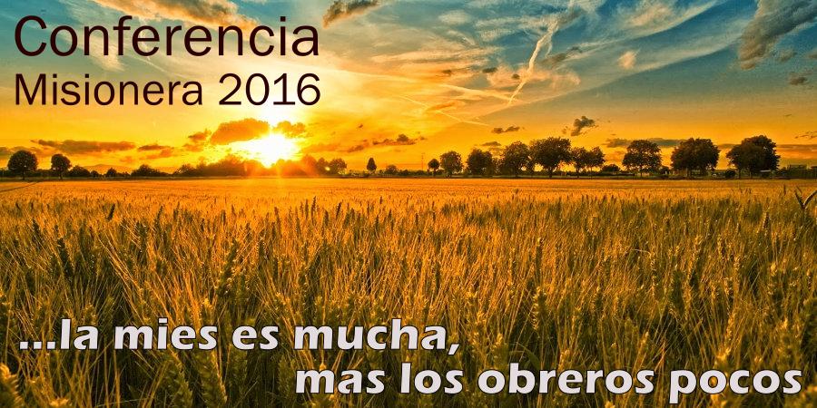 Conferencia Misionera 2016