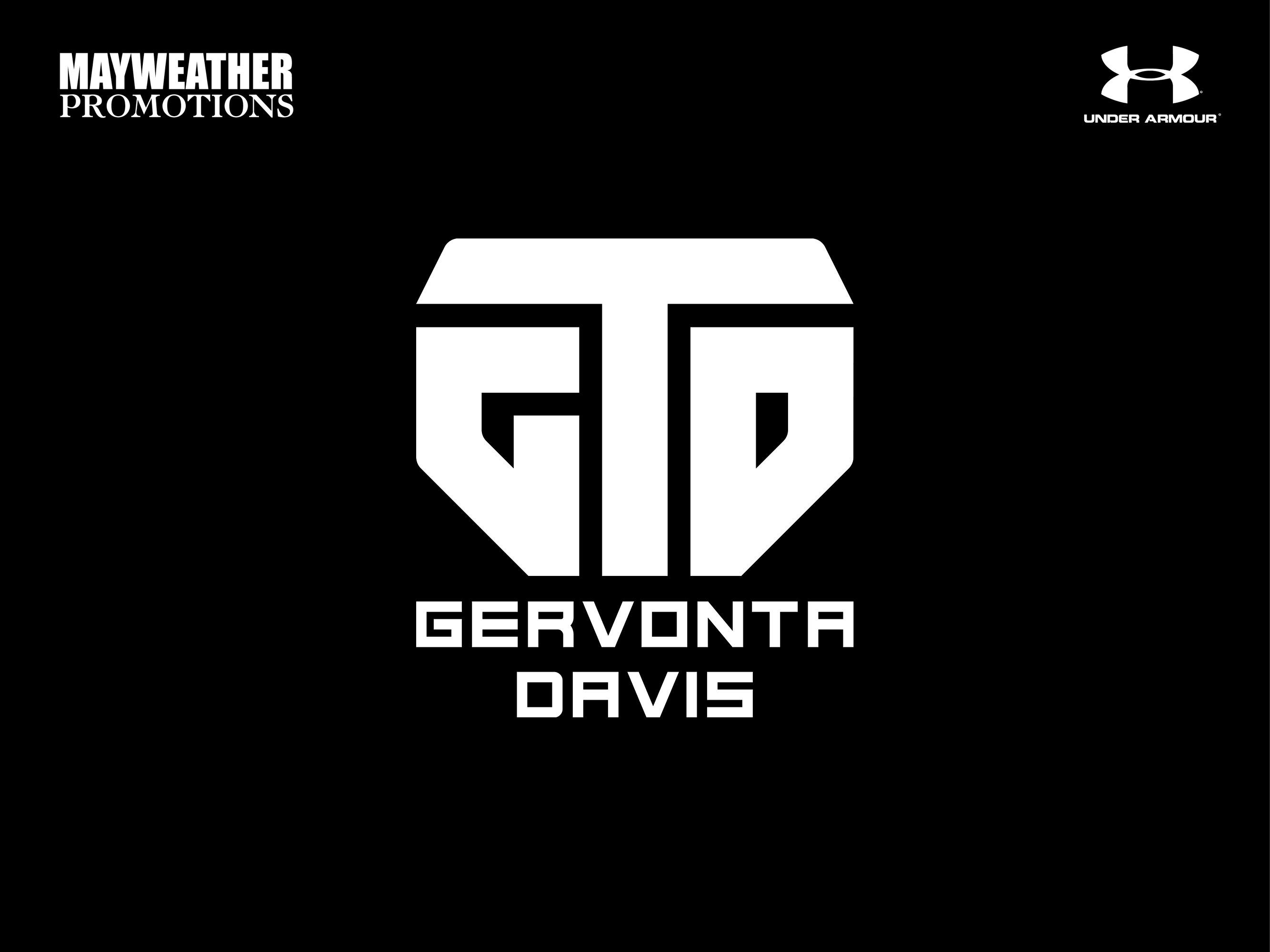 "Gervonta ""Tank"" Davis GTD Mayweather Promotions athlete logo design"
