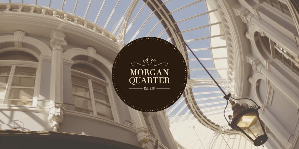 Morgan Quarter luxury logo design