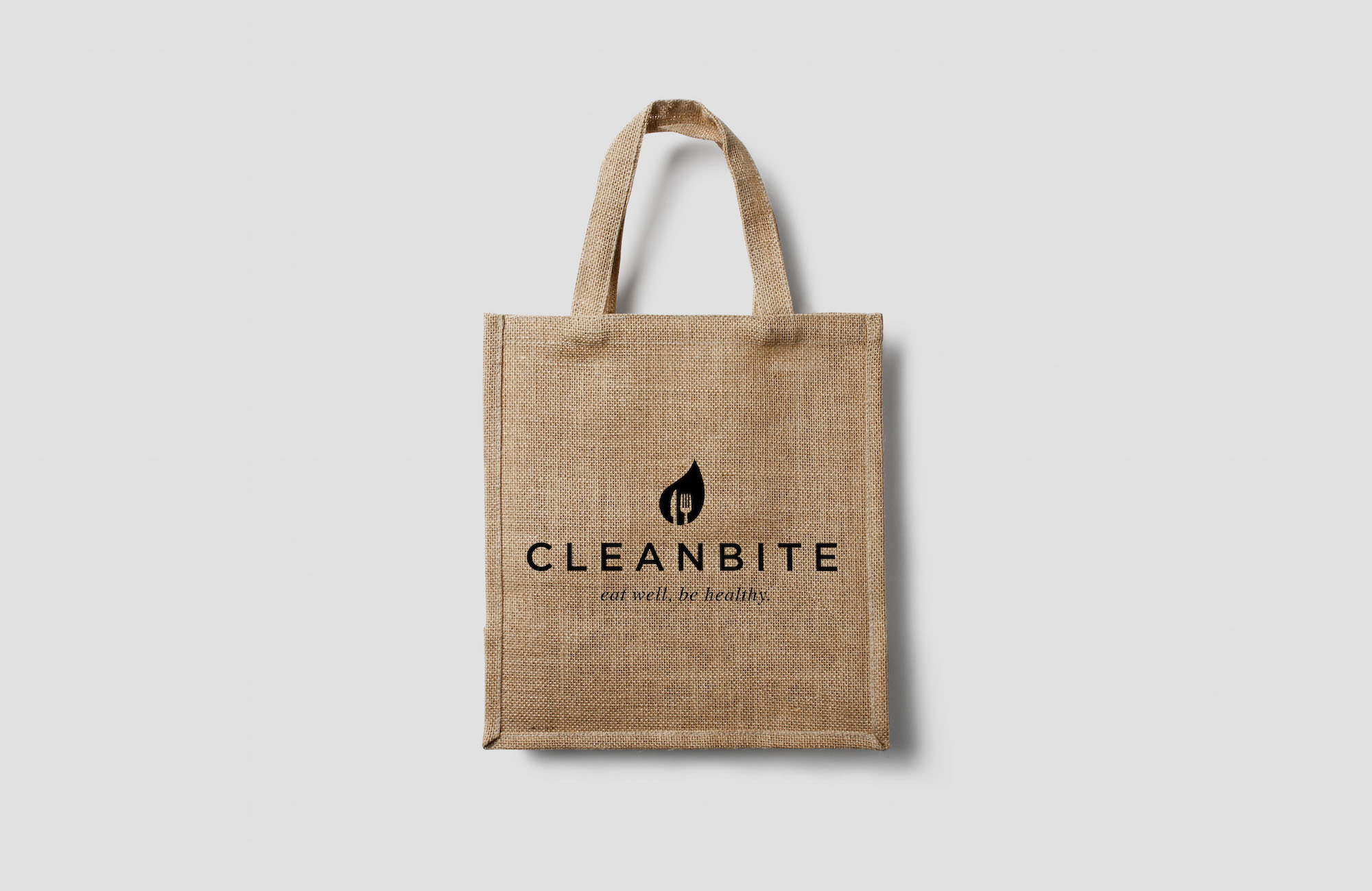 Cleanbite tote bag design Cardiff