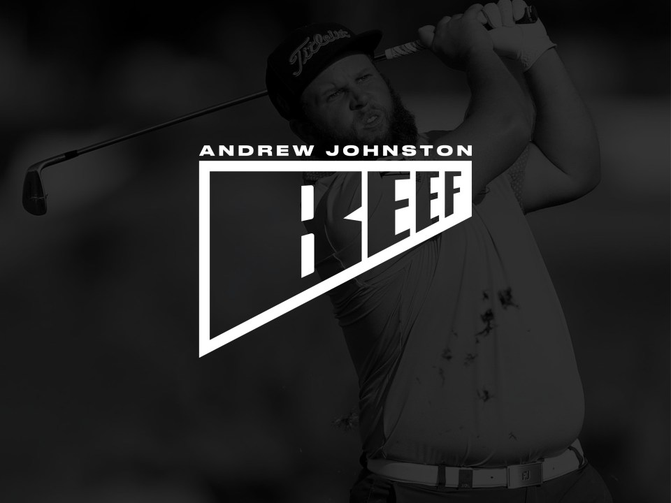 Andrew 'Beef' Johnston PGA tour golfer logo design