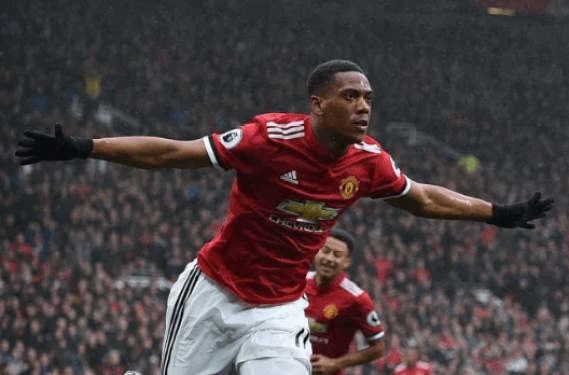 anthony martial MU