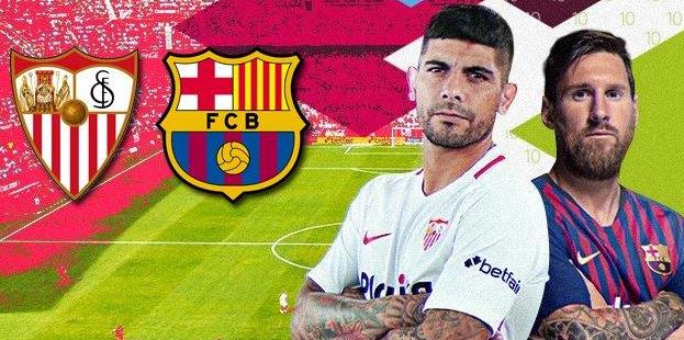Seru! Sevilla Vs Barcelona : 2 – 4