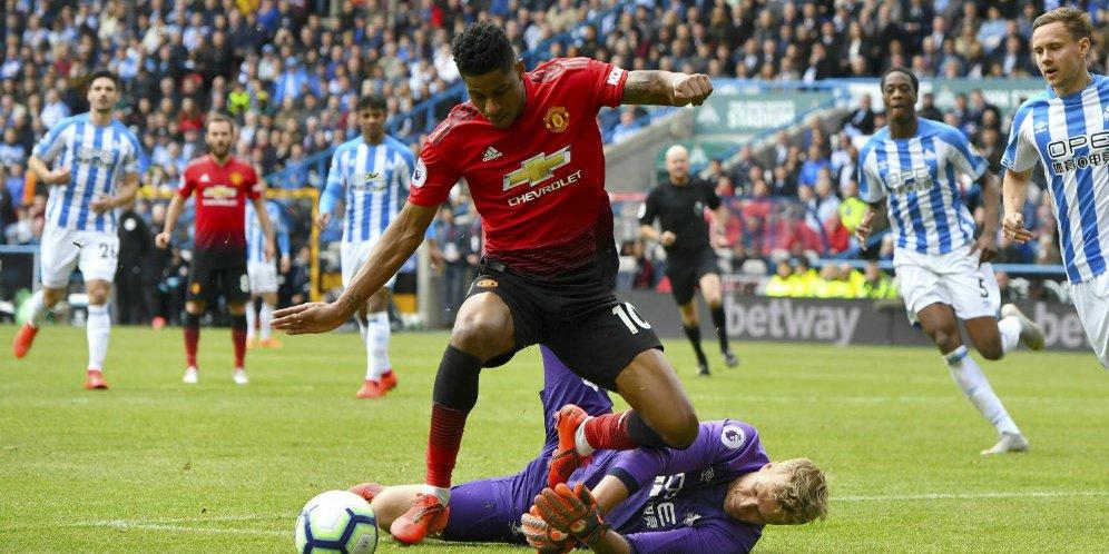 Hasil Pertandingan Huddersfield Vs Manchester United