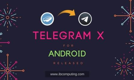 Telegram X for Android Released