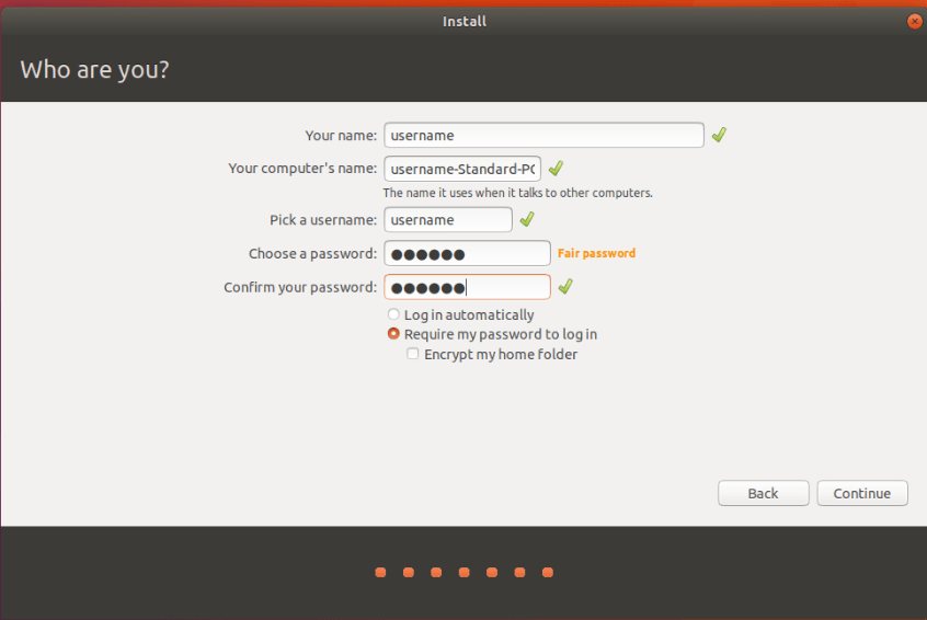 Ubuntu Installation Steps