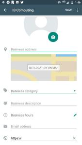 Company Profile in WhatsApp Business
