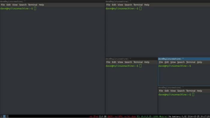 i3 window manager