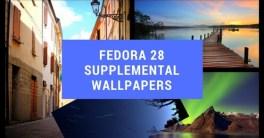 Fedora 28 Supplemental Wallpapers