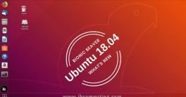 Ubuntu 18.04 Bionic Beaver Improvements