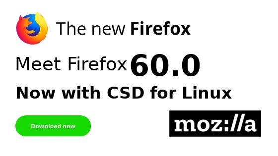 Firefox 60 Released