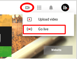 All new YouTube Go Live for live streaming directly from your browser