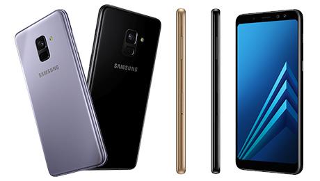 Best Budget Smartphones - Samsung A8+