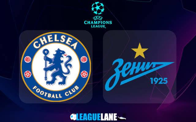 LIVE STREAM: Chelsea FC Vs Zenit Petersburg (UCL 2021)