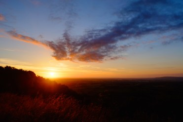 June - Sunrise on the longest day atop the Malverns