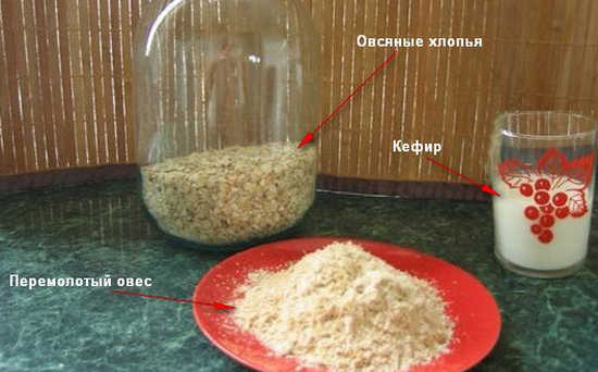 Как делать кисель из овса
