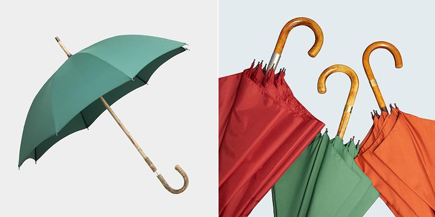 有錢人的下雨天!一支2萬多的精品雨傘。連撐傘都變得好優雅
